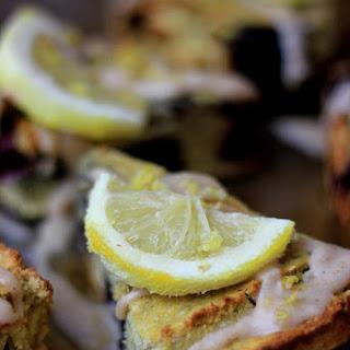 Lemon Blackberry Coconut Scones.