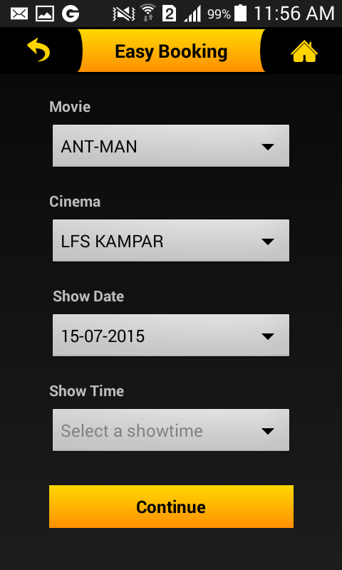LFS Cinemas- screenshot