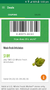 Whole Foods Market screenshot 1