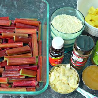 Rhubarb Crumble Recipe (Gluten Free, Grain Free)