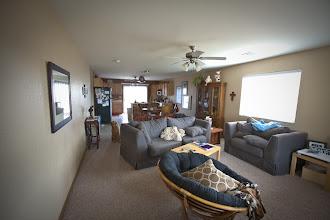 Photo: View as you walk in through the front door of open floor plan
