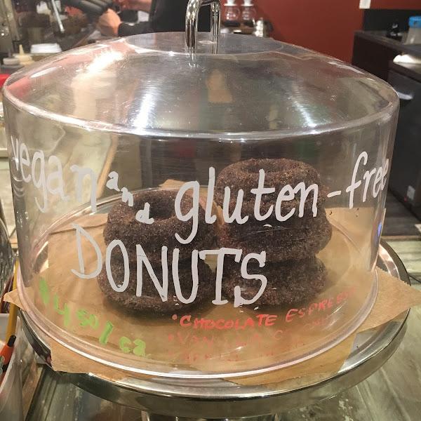 Gluten free + vegan donuts!