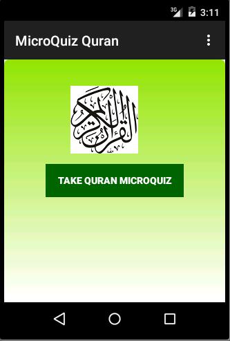 Quran Micro Quiz