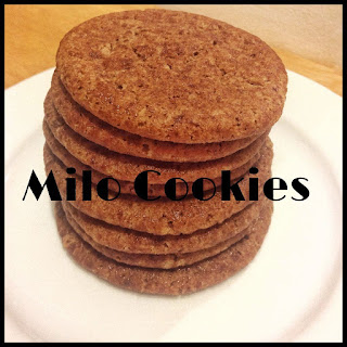 Milo Cookies (Thermomix Method Included)