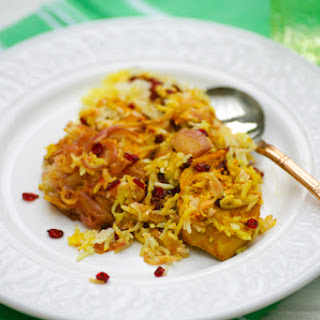 Zereshk Polow (Iranian Chicken with Barberries and Rice