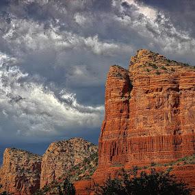 Sedona by Jim Antonicello - Landscapes Mountains & Hills ( arizona, red rock, sedona )