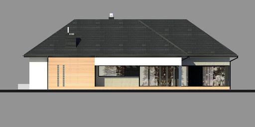 New House 17 - Elewacja prawa