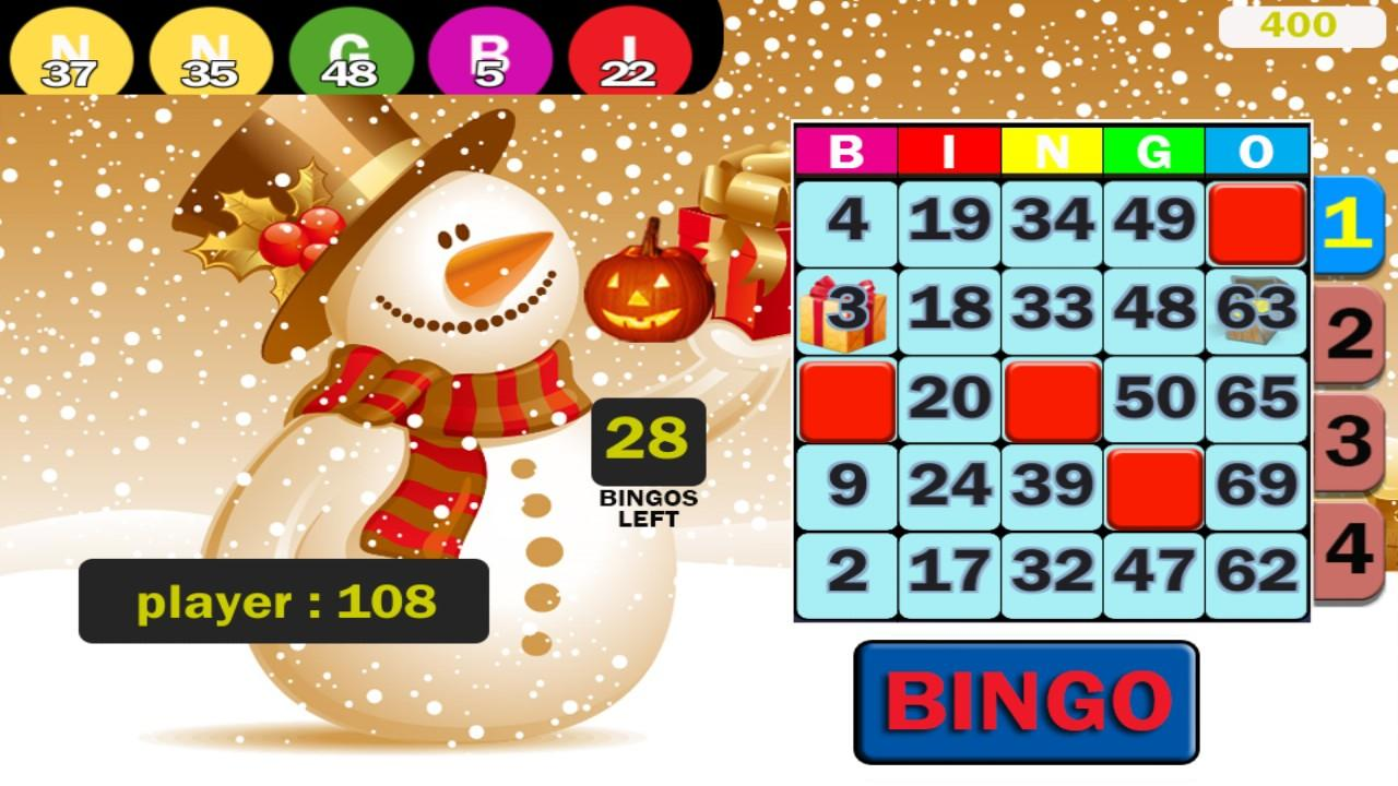 Santa Bingo - Christmas- screenshot