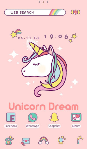 Wallpaper Unicorn Dream Theme 1.0.0 Windows u7528 1