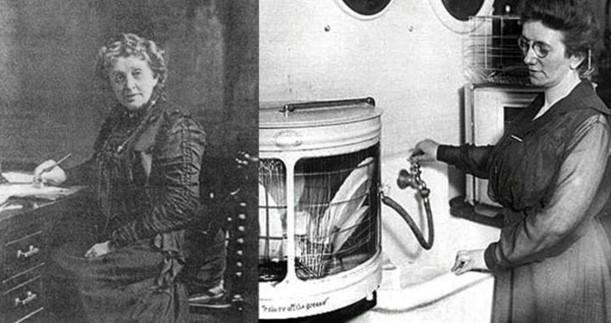 Josephine Cochrane inventó el lavavajillas.