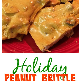 Quick and Easy Holiday Peanut Brittle