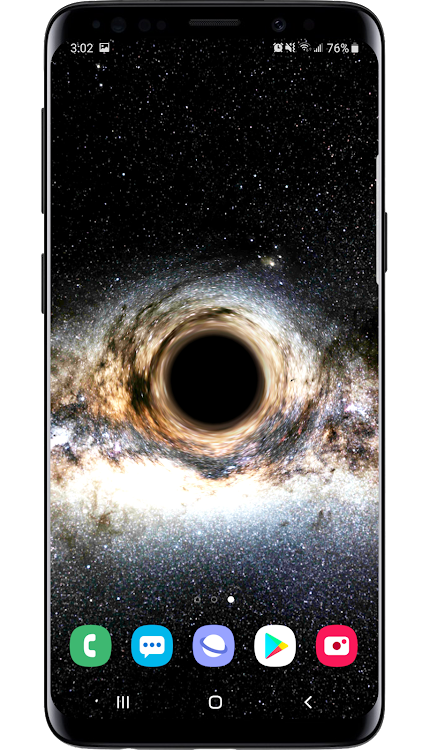Black Hole Simulation 3d Live Wallpaper Android Applications