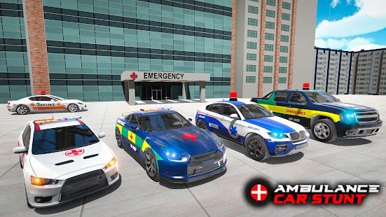Ambulance car stunts – Mega Ramp Stunts for PC-Windows 7,8,10 and Mac apk screenshot 7