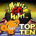 Monkey GO Happy - Top 10 Free Puzzle Adventures icon