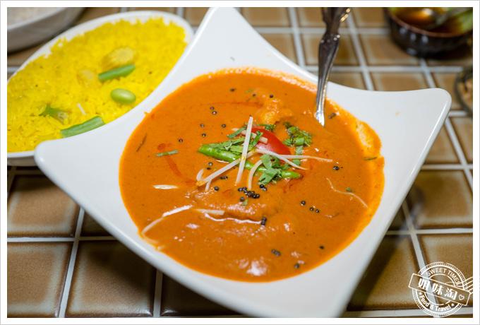 瑪哈印度餐廳印度香料魚咖哩