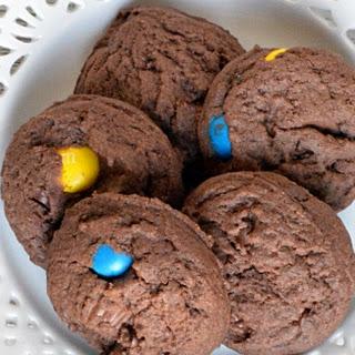 Peanut Butter Chocolate Cookies #Choctoberfest