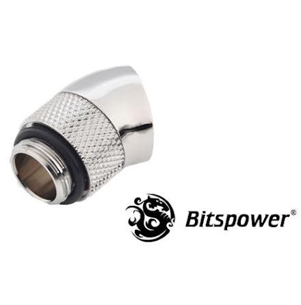 "Bitspower svivel, 30°, 1/4""BSPx1/4""BSP"