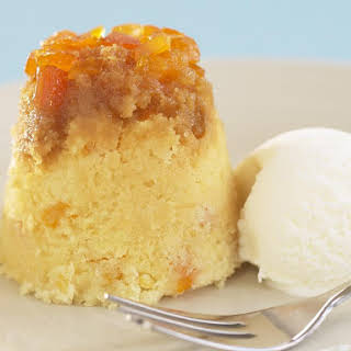 Steamed Apricot Cakes.