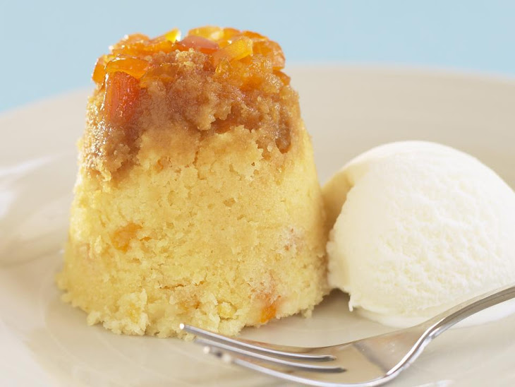 Steamed Apricot Cakes Recipe