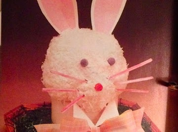 Here Comes The Easter Bunny... Cake! Recipe