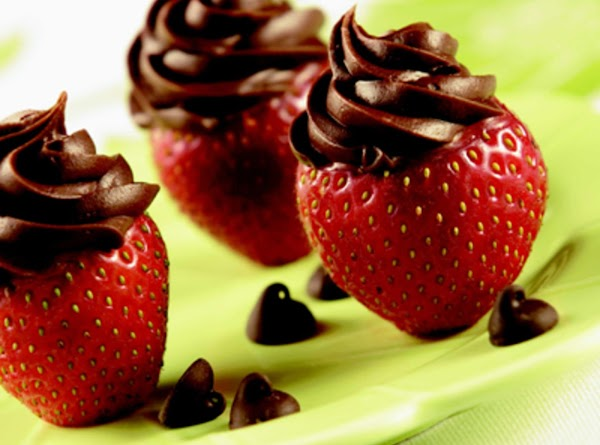 Inside-out Chocolate Strawberries Recipe