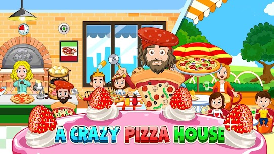 My Town : Bakery & Pizza Store Free MOD (Paid Content) 5