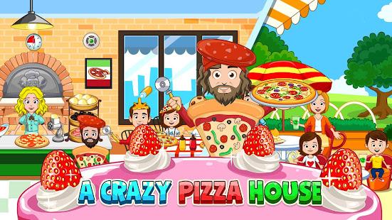 我的小鎮:烘焙與烹飪兒童遊戲