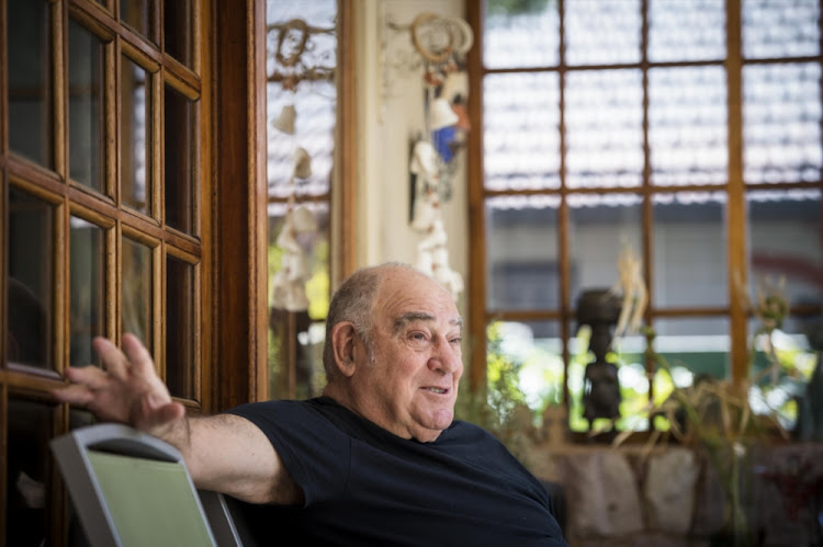 Former Intelligence Minister Ronnie Kasrils. File photo.