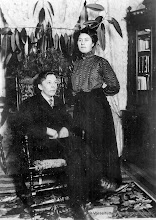 Photo: Grantorp. Erik och Ottilia Ramstedt omkr. 1910