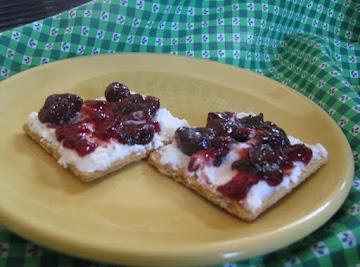 Mock Cheesecake Snack Recipe