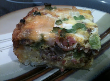 All The Glory Layered Egg-bake Recipe