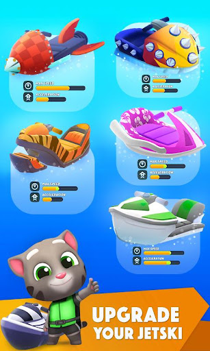 Download Talking Tom Jetski 2 MOD APK 5