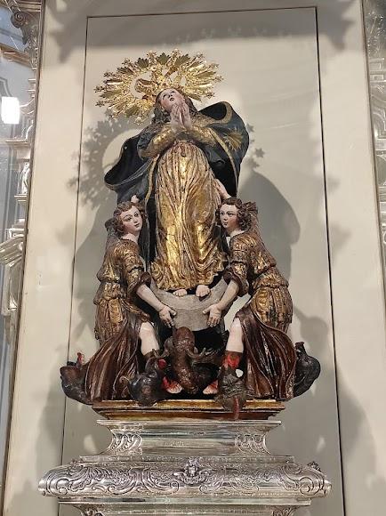 Virgen del Saliente.
