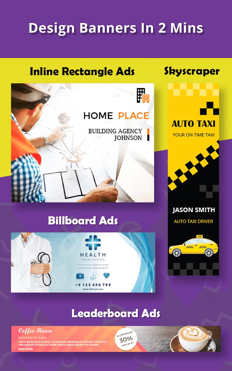 Banner Maker, Ad Maker, Web Banners, Graphic Art Screenshot 16