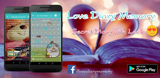 Love Diary Memory - Write Secret Diary with Lock app (apk) free download for Android/PC/Windows screenshot