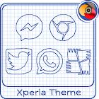 Sheet of notebook | Xperia™ Theme + icons icon