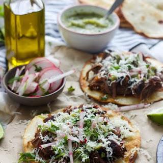 Weight Watchers Turkey Cutlet Tostadas with Tomatillo-Lime Salsa