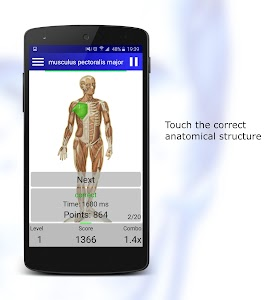 Anatomy Quiz screenshot 0