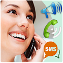 Call & SMS Speaker icon