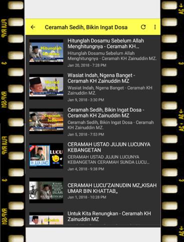 ceramah KH Zainudin MZ 1.0 screenshots 7