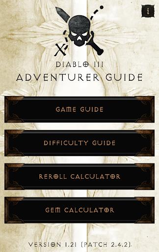 Adventurer Guide for Diablo 3 1.31 screenshots 1