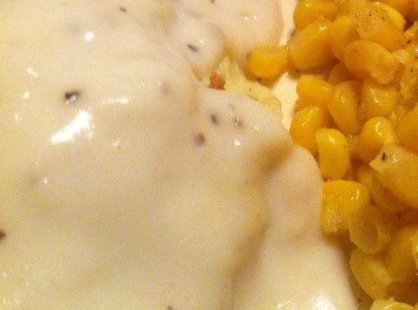 Good Old Fashioned White Gravy Recipe