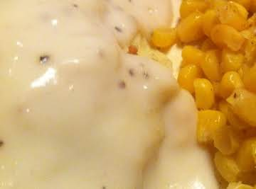 Good Old Fashioned White Gravy