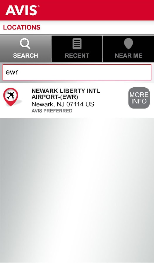 Avis Car Rental- screenshot