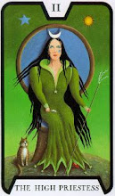 Photo: .II. The High Priestess - A Papisa Tarot of the Witches - Fergus Hall