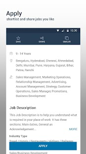 Download Naukri.com Job Search For PC Windows and Mac apk screenshot 2