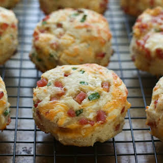 Ham and Cheese Biscuits {traditional and gluten free recipes}.