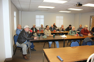 Photo: We had about 20 TTF's attend the meeting.