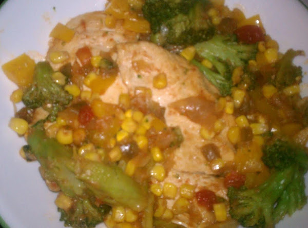 Mexican Chicken And Vegetables Recipe