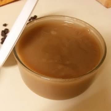 Coconut Cream Caramel Sauce (non-dairy)
